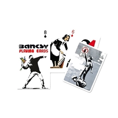 Piatnik Banksy Playing Cards -child-The Vault