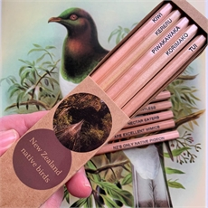 New Zealand Bird Pencil Pack of 5 Boxed-new-The Vault