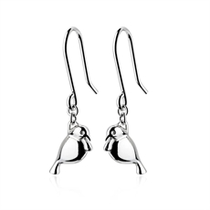 Silver Tui Earrings-jewellery-The Vault
