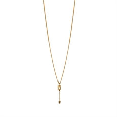 Petite Arrow Pendant 9ct Gold-jewellery-The Vault