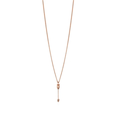 Petite Arrow Pendant 9ct Rose Gold-jewellery-The Vault