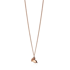 Petite Fnatail Pendant 9ct Rose Gold-jewellery-The Vault