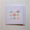 Pastel Colour Hearts Card-cards-The Vault