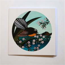 Fantail Summer Card-cards-The Vault