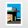 Beach Store A4 Print-home-The Vault