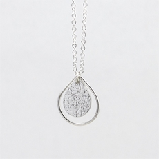 Dewdrop Necklace Silver-new-The Vault