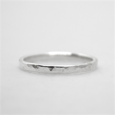 Dimple Ring Silver-new-The Vault