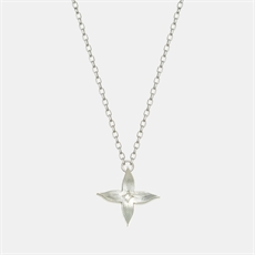 Jasmine Chain Necklace Silver-jewellery-The Vault