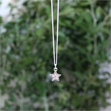 Mini Star Pendant Silver-new-The Vault