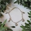 NZ Icon Charm Bracelet Silver-jewellery-The Vault