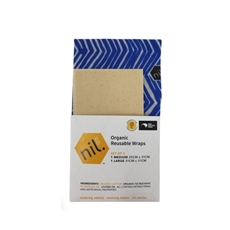 Organic Beeswax Food Wrap 2pk Blue River-new-The Vault