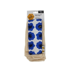 Organic Produce Bags 3pk Blue Flower-new-The Vault
