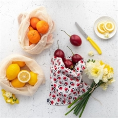 Organic Produce Bags 3 Pack Red Pohu-new-The Vault