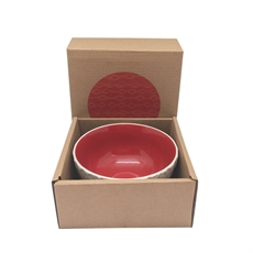 Kowhai Red 12cm Bowl-new-The Vault