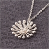 Dandelion Chain Necklace Silver-jewellery-The Vault