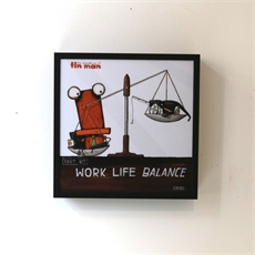 Work Life Balance Box Frame-home-The Vault