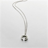 Thorn Circle Necklace Silver-jewellery-The Vault