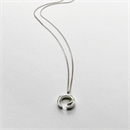 Thorn Circle Necklace Silver