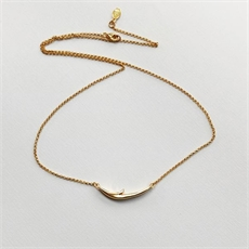 Long Thorn Necklace Gold Plate -jewellery-The Vault