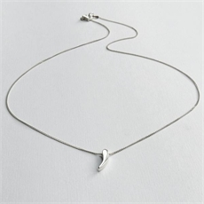Prickle Necklace Silver-jewellery-The Vault