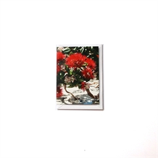 Tidal Pohutukawa Small Card-cards-The Vault