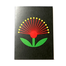 Pohutukawa Glow Card-cards-The Vault