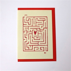 Found Love (Maze) Card-cards-The Vault