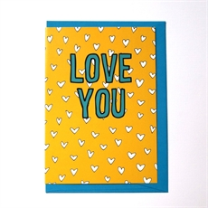 Love You Card-cards-The Vault