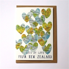 Lots of Love From NZ Card-cards-The Vault