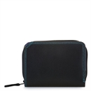 Small Wallet w Zip Purse Black Pace