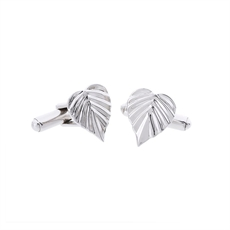 Wild Heart Space Cufflinks Silver -for-him-The Vault