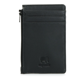 Credit Card Holder w Coin Purse Black