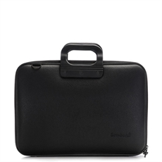 "Bombata Laptop Bag All Black 17""-for-her-The Vault"