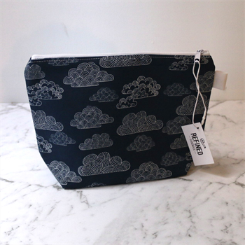 Large Makeup Bag Clouds