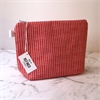 Large Makeup Bag Red Geo-new-The Vault