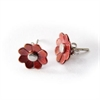 Copper Daisy Stud Earrings-jewellery-The Vault