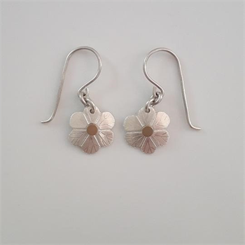 Silver Daisy Earrings