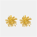 Mt Cook Lily Studs 22ct Gold Plate