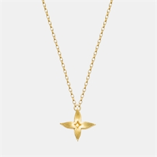 Jasmine Chain Necklace 22ct Gold Plate-jewellery-The Vault