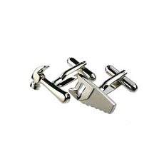 Saw & Hammer Cufflinks-for-him-The Vault