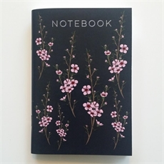 Manuka Flower Notebook A6-home-The Vault