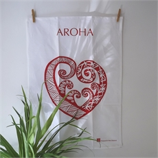 Pacific Aroha Teatowel-artists-and-brands-The Vault