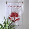 Pacific Pohutukawa Teatowel-home-The Vault