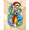Tiki Picasso A4 Print-home-The Vault