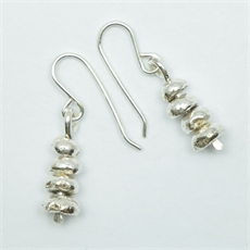 Pirepire Earrings Silver-jewellery-The Vault