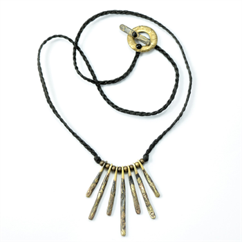 Rata Necklace Brass