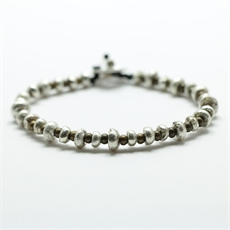 Pirepire Bracelet Silver Brass-jewellery-The Vault