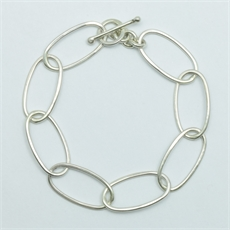 Mekameka Chain Bracelet Silver-jewellery-The Vault