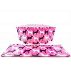 Dog Bowl Pinky-home-The Vault