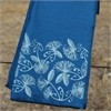Merino Scarf Koru Pohutukawa Azure-for-her-The Vault